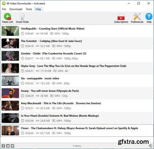 4K Video Downloader 4.14.0.4010 Multilingual Portable