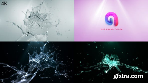 Videohive Water Splash Logo Reveal 2 25518227