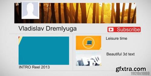 Videohive Youtube Intro 5293198