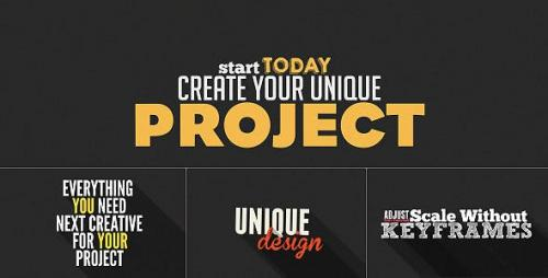 Videohive - Kinetic Typography Shop