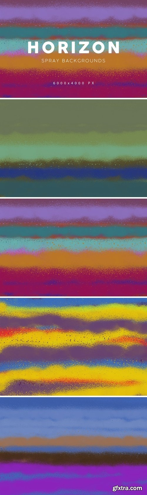 Horizon Spray Paint Backgrounds