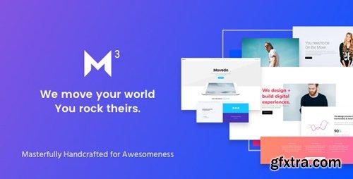 ThemeForest - Movedo v3.2.5 - Responsive Multi-Purpose WordPress Theme - 17923709
