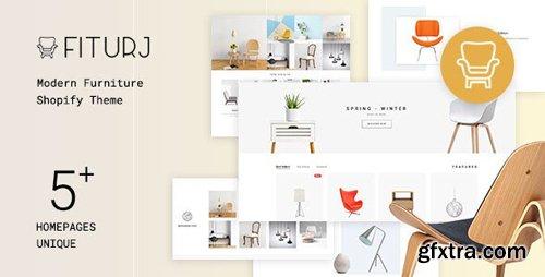 ThemeForest - Fiturj v1.0.1 - Modern Furniture Shopify Theme - 25246730