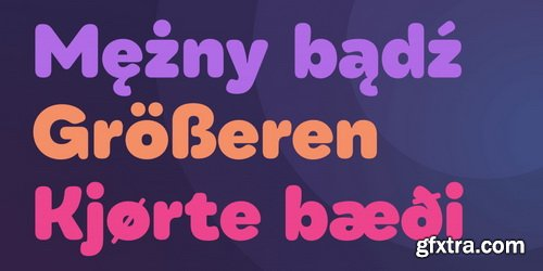 Qualion Round Font Family