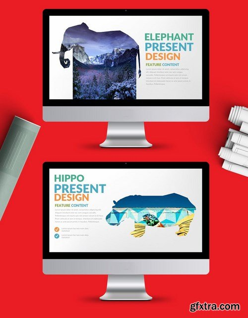 Chicken Powerpoint Google Slides and Keynote Templates