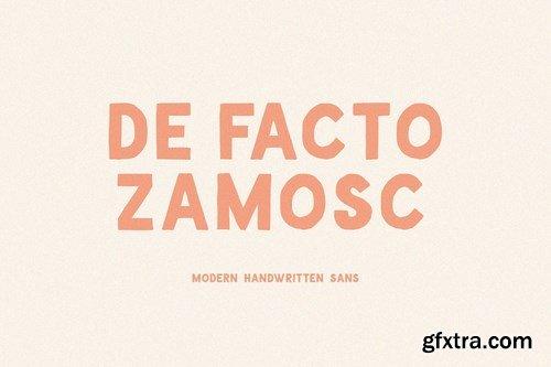 CM - De Facto Zamosc + Free Font & Logos 4491277