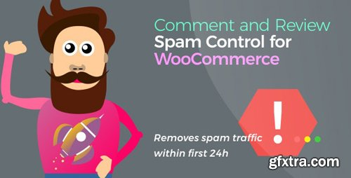 CodeCanyon - Comment and Review Spam Control for WooCommerce v1.1.5 - 24305144