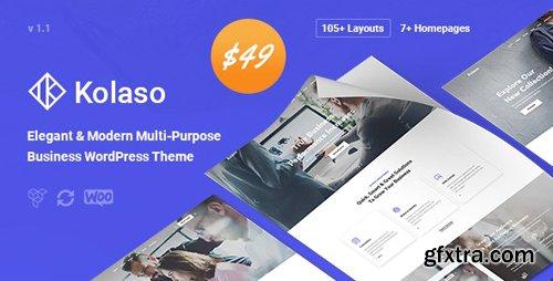 ThemeForest - Kolaso v1.2.0 - Modern Multi-Purpose WordPress Theme - 23321406