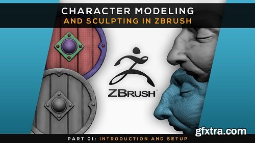 Character Modeling and Sculpting in Zbrush | Part 01: Introduction and Setup