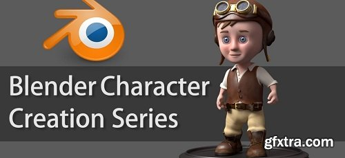 3D Cartoon Character Modeling Series