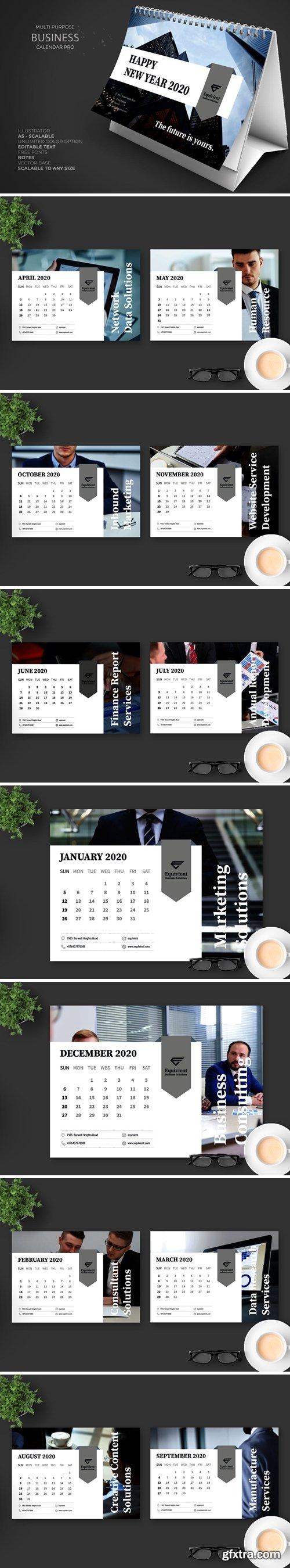 2020 Business Calendar Pro