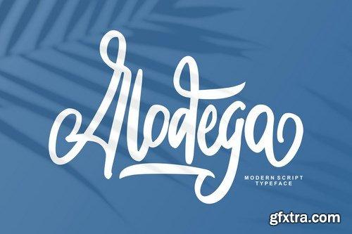 Alodega Modern Script