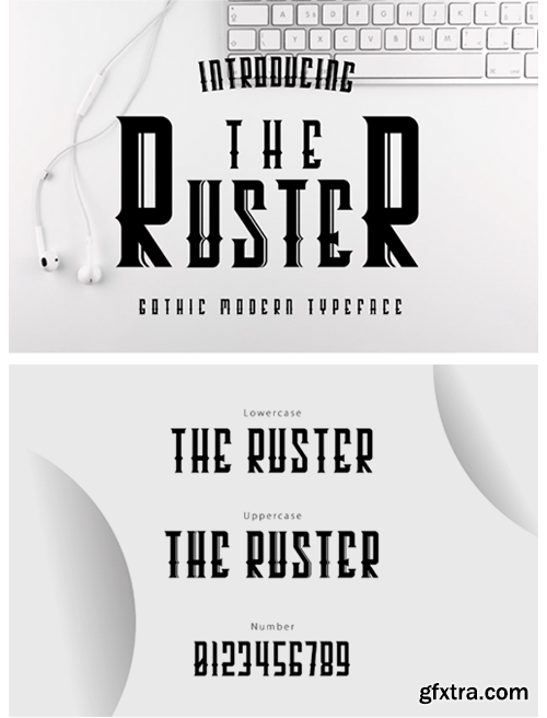The Ruster Font