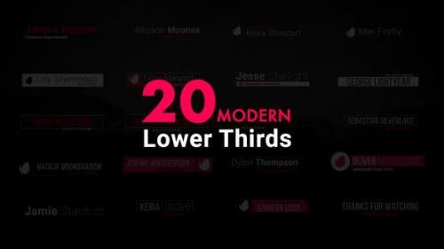 Videohive - Modern Lower Thirds