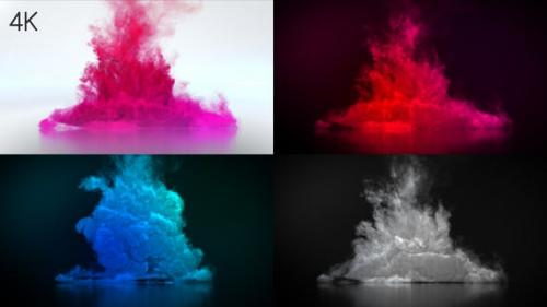 Videohive - Color Smoke Logo Reveal 4
