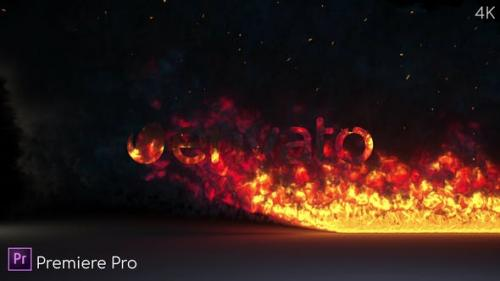 Videohive - Fire Burning Logo Reveal - Premiere Pro