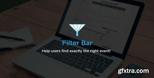 The Events Calendar - Filter Bar v4.8.1 - Event Tickets Add-On