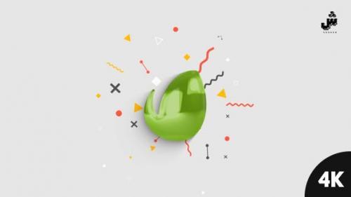 Videohive - Minimal Glossy Logo Reveal