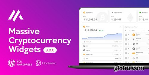 CodeCanyon - Massive Cryptocurrency Widgets v3.1.4 | Crypto Plugin - 22093978