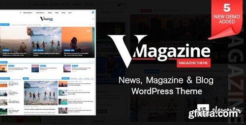 ThemeForest - Vmagazine v1.1.6 - Multi-Concept News WordPress Theme - 21950900