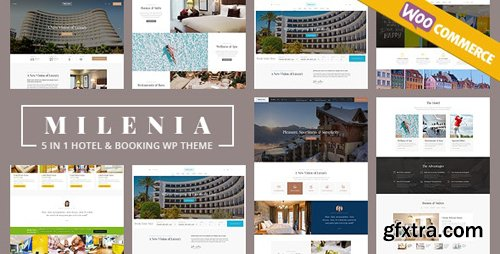 ThemeForest - Milenia v1.1.8 - Hotel & Booking WordPress Theme - 22943954