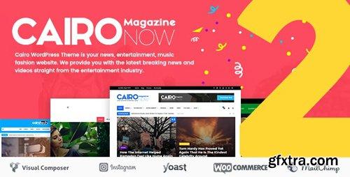 ThemeForest - Cairo v2.1 - Newspaper & Magazine WordPress Theme - 20087922
