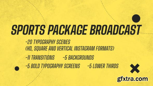 Videohive Sport Package Broadcast 25568328