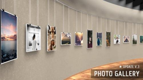 Videohive - Realistic 3D Photo Gallery