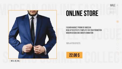 Videohive - Fashion Market