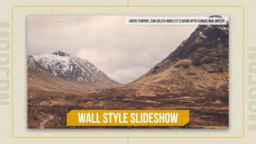 Videohive - Wall Style Slideshow - 17570010