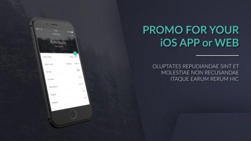 Videohive - iPhone Web / App Promo