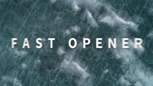 Videohive - Fast Opener - 19796963