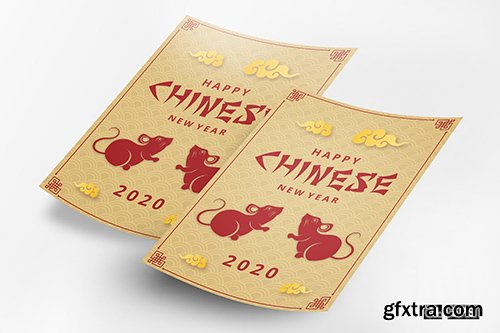 Chinese New Year 2020 Flyer