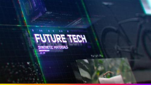 Videohive - Futuristic HUD Slideshow