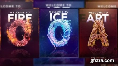 Create an Elemental Poster with Field Force in C4D & Photoshop