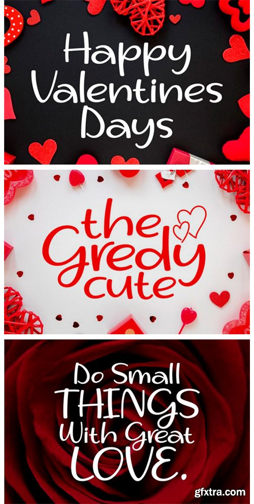 The Gredy Cute Font