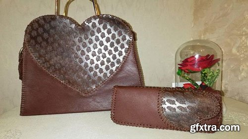 Become a Master in Making Leather Shoulder Bag and Wallet