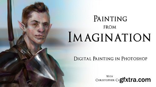 Painting from Imagination: Portrait Digital Painting Process in Photoshop