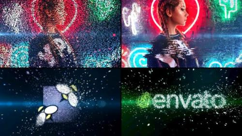 Videohive - Particle Effect and Glitch