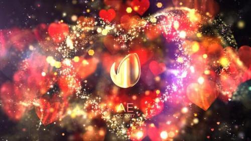Videohive - Glitter Love Titles
