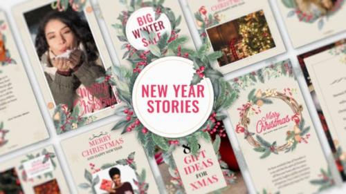 Videohive - New Year Stories - 25283304
