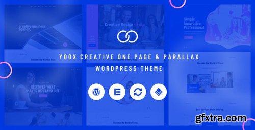 ThemeForest - Yoox v1.0 - Creative One Page & Parallax WordPress Theme - 23378260