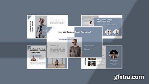 Geaulman – Creative Fashion Powerpoint Google Slides and Keynote Templates