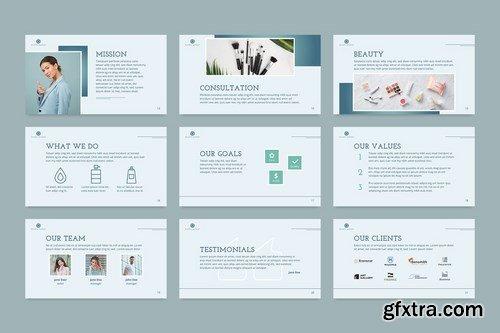 Beauty Market PowerPoint Presentation Template