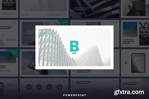 BAUSS - Simple Corporate Powerpoint Template