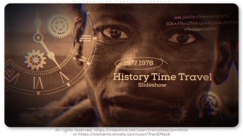 Videohive - History Time Travel Slideshow