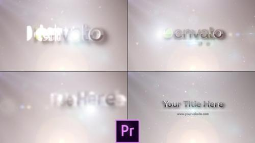 Videohive - Flares Logo Reveal - Premiere Pro