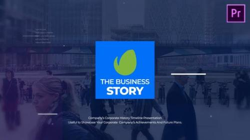 Videohive - The Business Story MOGRT