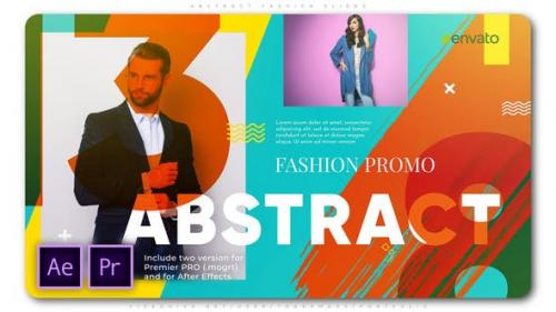 Videohive - Abstract Fashion Slides