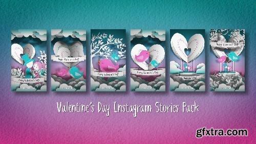 MotionArray Valentine´s Day Instagram Stories Pack 373711
